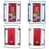 PVC Coated Wire Frame Locker Shelf - 2