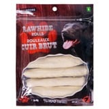 Rawhide Rolls for Dogs 7PK - 0