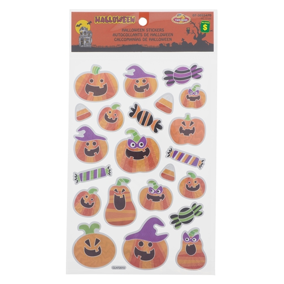 Foil Halloween Stickers