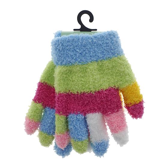 Children's multicolor Cozy Gloves