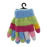 Children's multicolor Cozy Gloves - 0