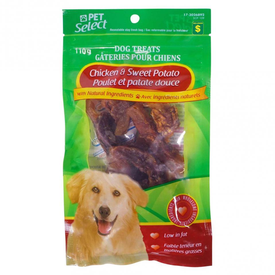 Chicken & Sweet Potato Dog Treats