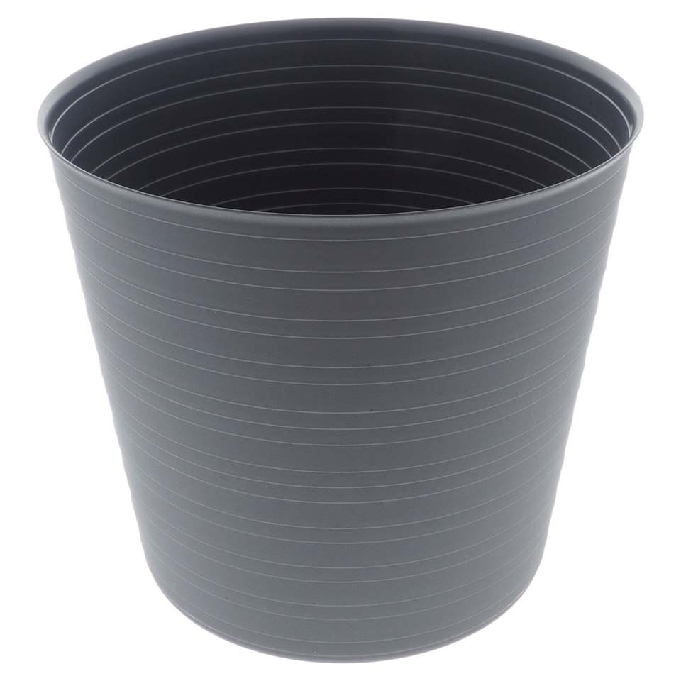 Horizontal Ribbed Planter (Assorted Colours)