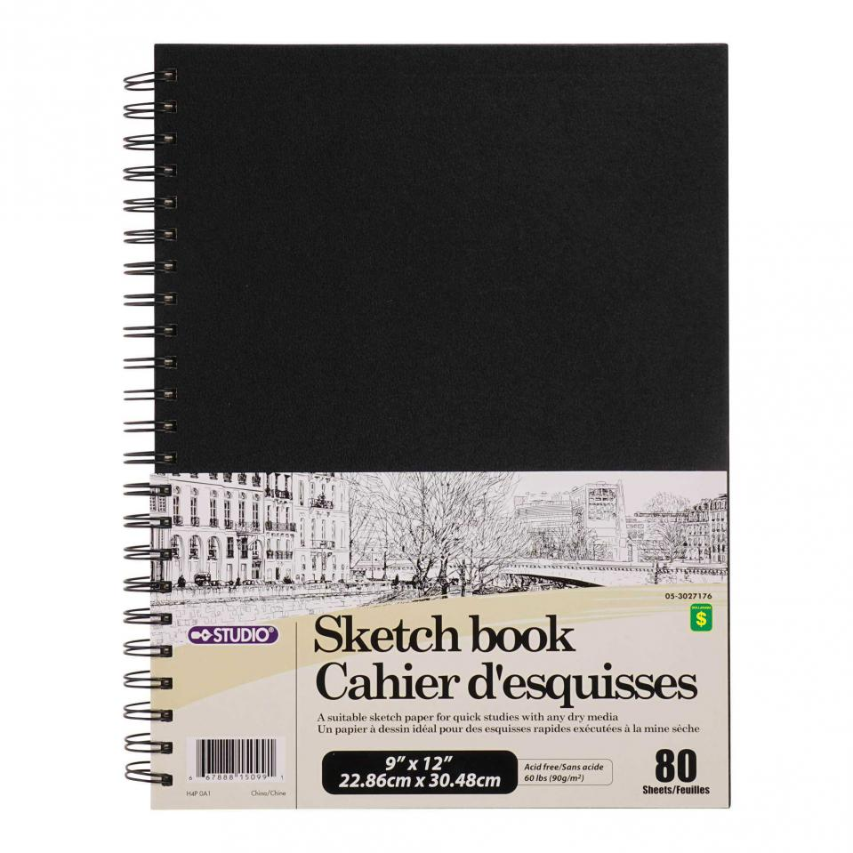 80 Page Sketchbook