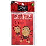 6Pk Valentines Game Tablets - 0