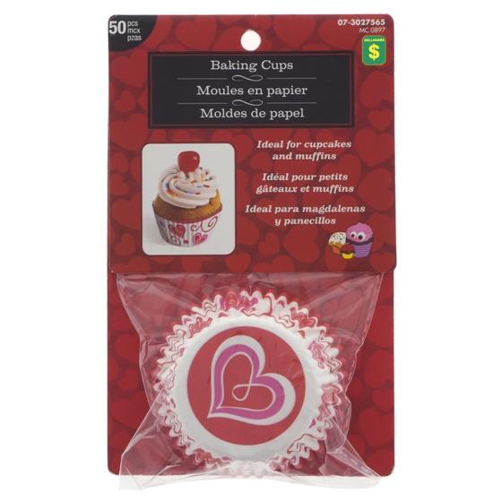 50PK Paper Cupcake Holders