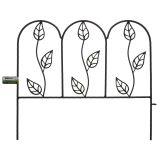 Heavy Metal Garden Fence - 2