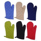 2PK Quilted Oven Mitts - 1