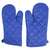 2PK Quilted Oven Mitts (Assorted colours) - 2