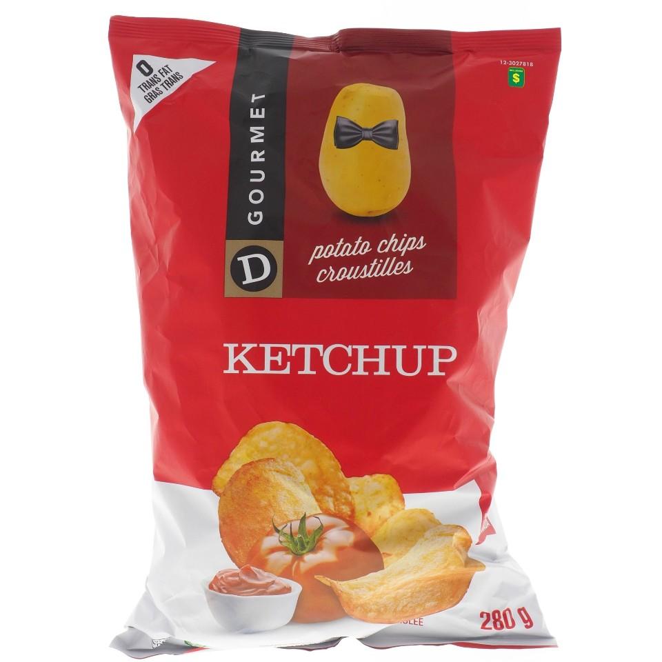 Croustilles au Ketchup