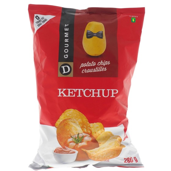 Ketchup Potato Chips