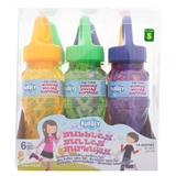 6Pk 4Oz Bubble Bottle With Wand - 0