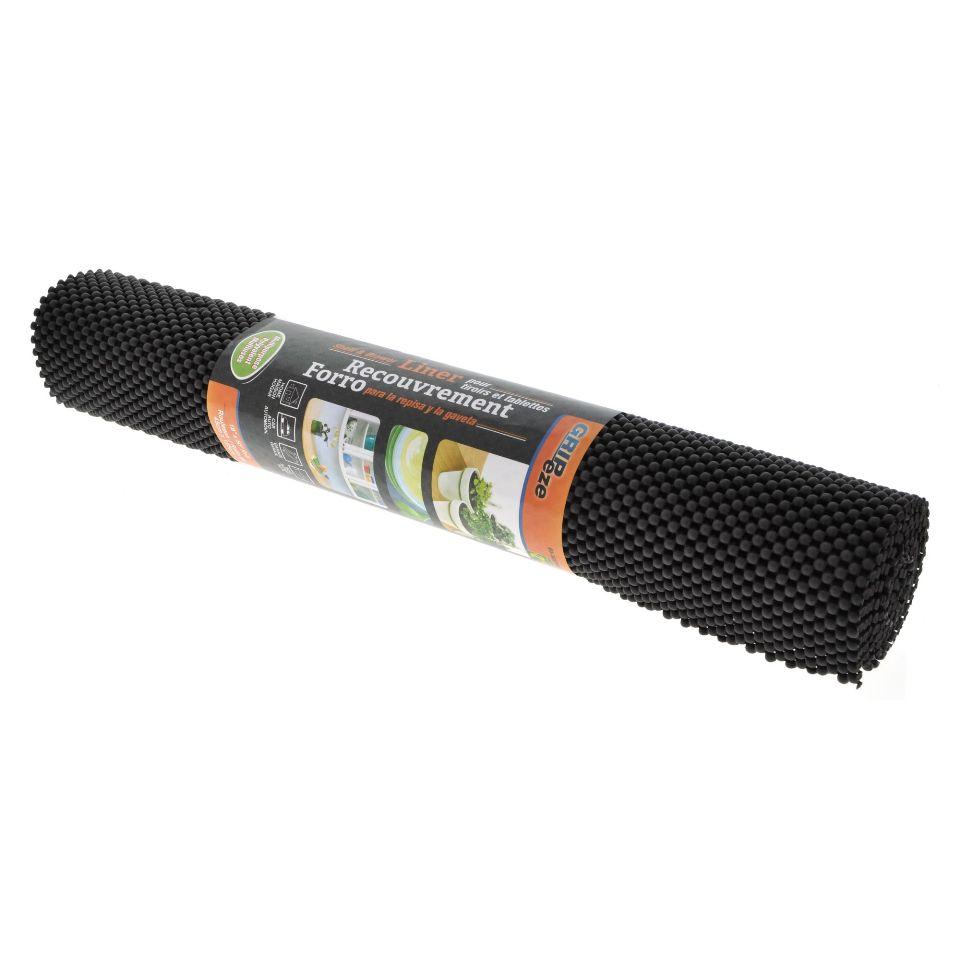 Black Anti-Slip Shelf Liner
