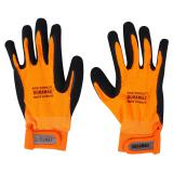 Latex Dipped Breathable Fabric Gloves (Assorted sizes) - 2
