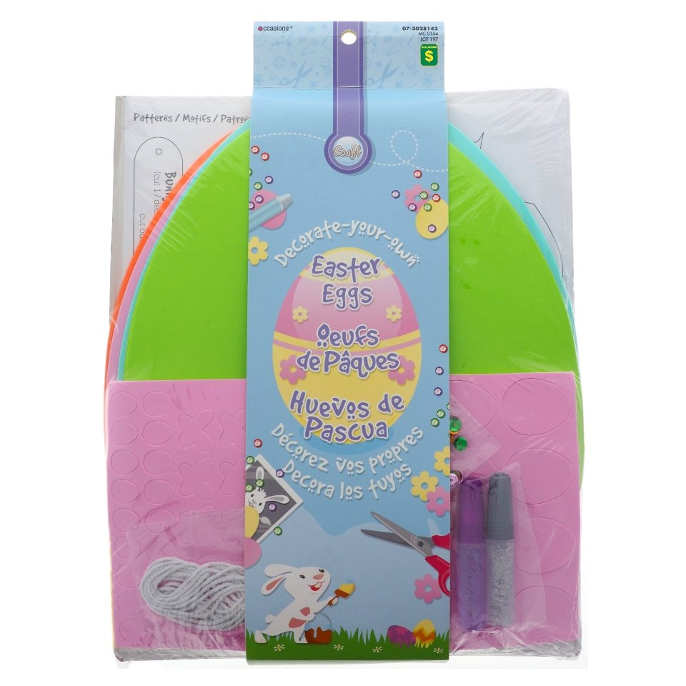 Easter Bunny Decoration Kit