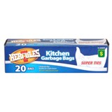 Kitchen Garbage Bags 20PK - 0