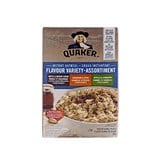 Quaker instant oatmeal - variety pack - 0