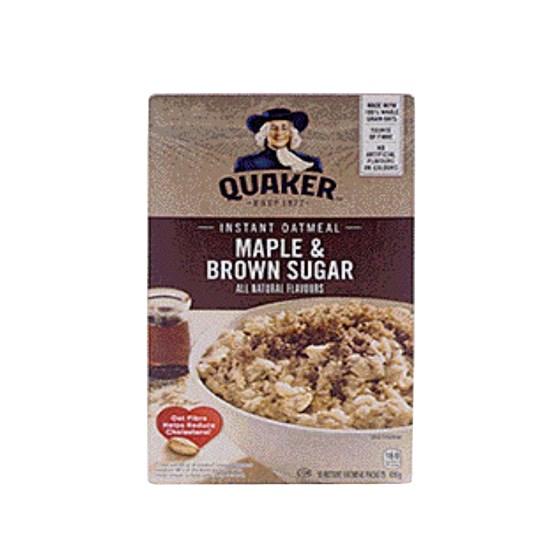 Quaker gruau instantané - Érable