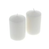 Unscented Candles 2PK - 1
