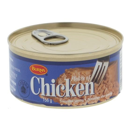 Flakes of Chicken