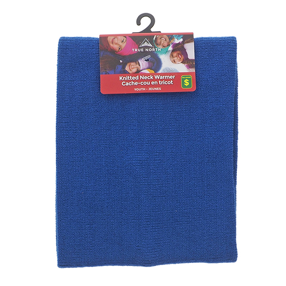 Youth Acrylic Knitted Neck Warmer