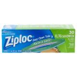 30 Ziploc XL Sandwich Bags - 0