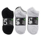 5PR Low-Cut Women's Socks (Assorted Colours) - 1