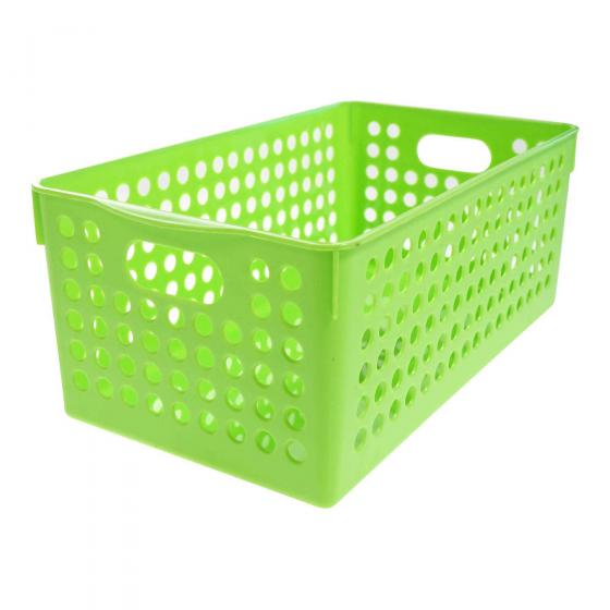 Plastic Basket (Assorted colours)