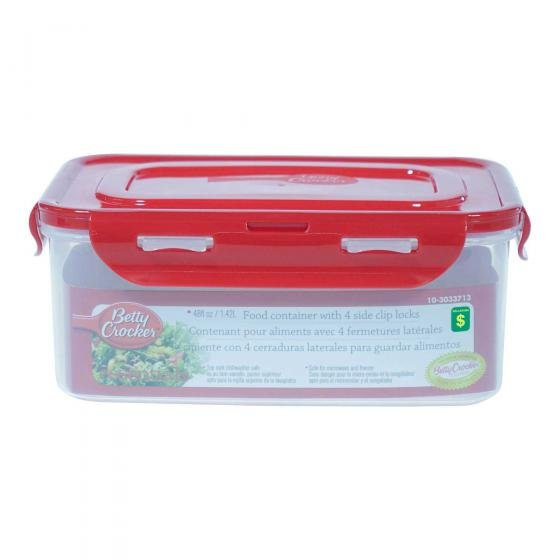 Clip-Lock Food Container