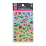 Puffy Stickers (Assorted Colours) - 0