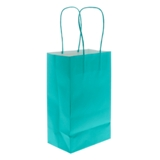 3PK Solid Colour Kraft Paper Bags (Assorted Colours) - 3