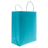 2PK Solid Colour Kraft Paper Bags (Assorted colours) - 3