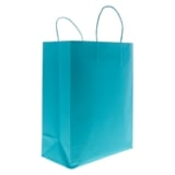Solid Colour Kraft Paper Bags 2PK (Assorted Colours) - 3
