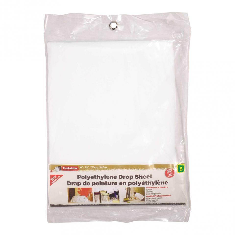 Polyethylene Drop Sheet