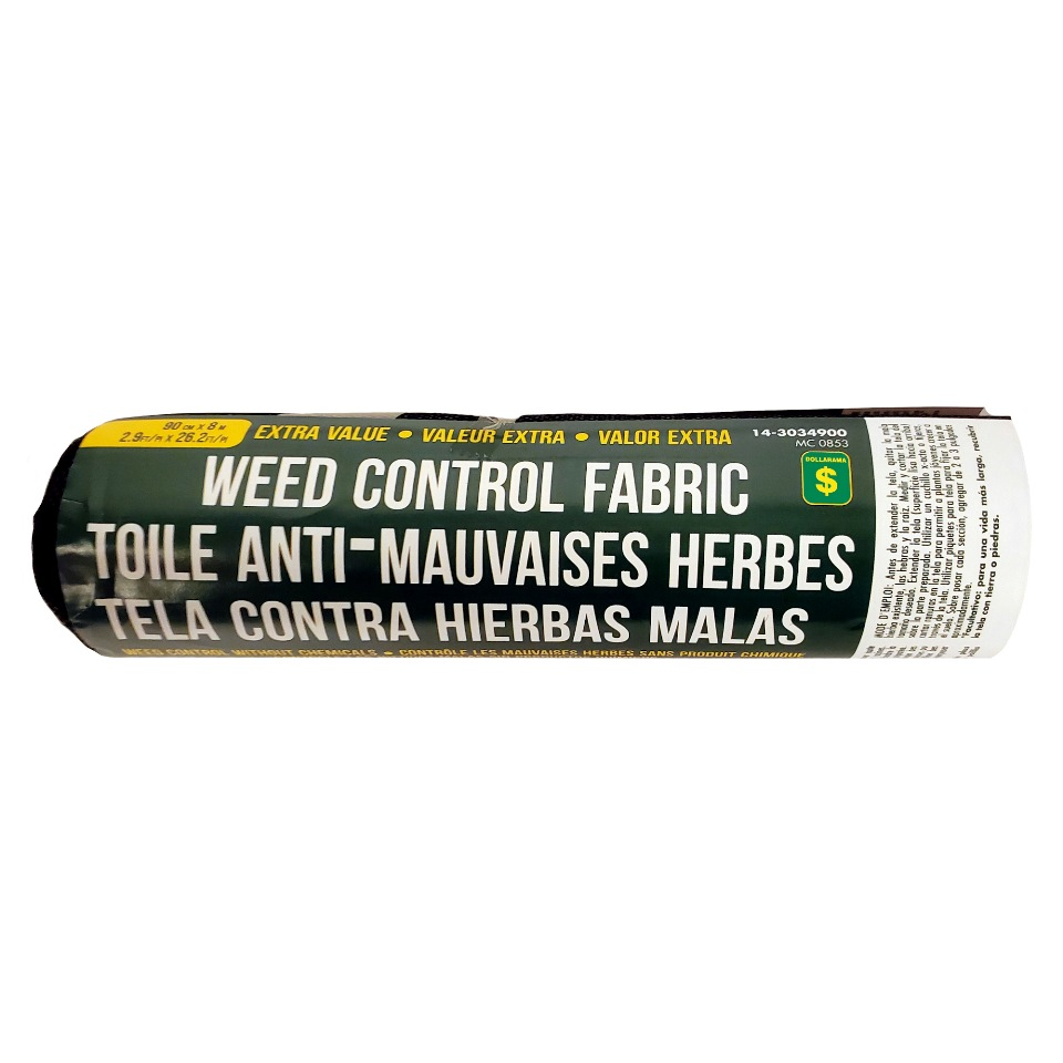 Extra Value Weed Control Fabric