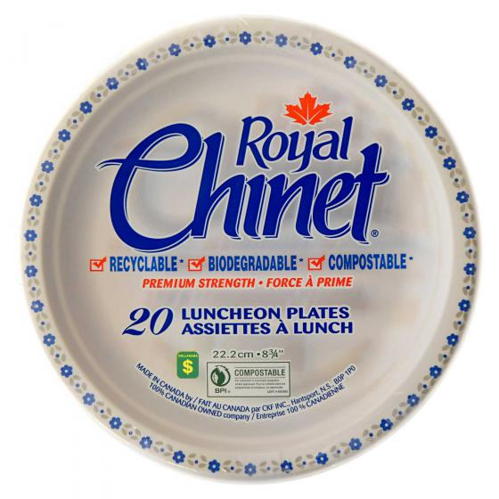 20PK Disposable Luncheon Plates