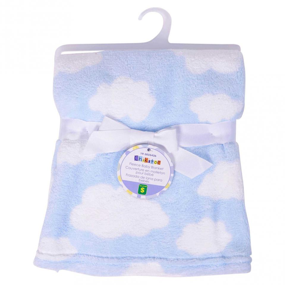 Fleece Baby Blanket (Assorted Prints)