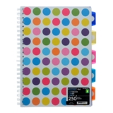 Spiral Notebook (Assorted Styles and Colours) - 0