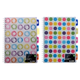Spiral Notebook (Assorted Styles and Colours) - 1
