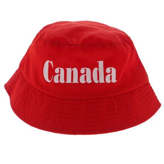 Canada Cotton Bucket Hat