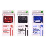 Stereo Earbuds with Microphone (Assorted colours) - 1