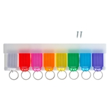 Keychain 8PK with Rack - 1