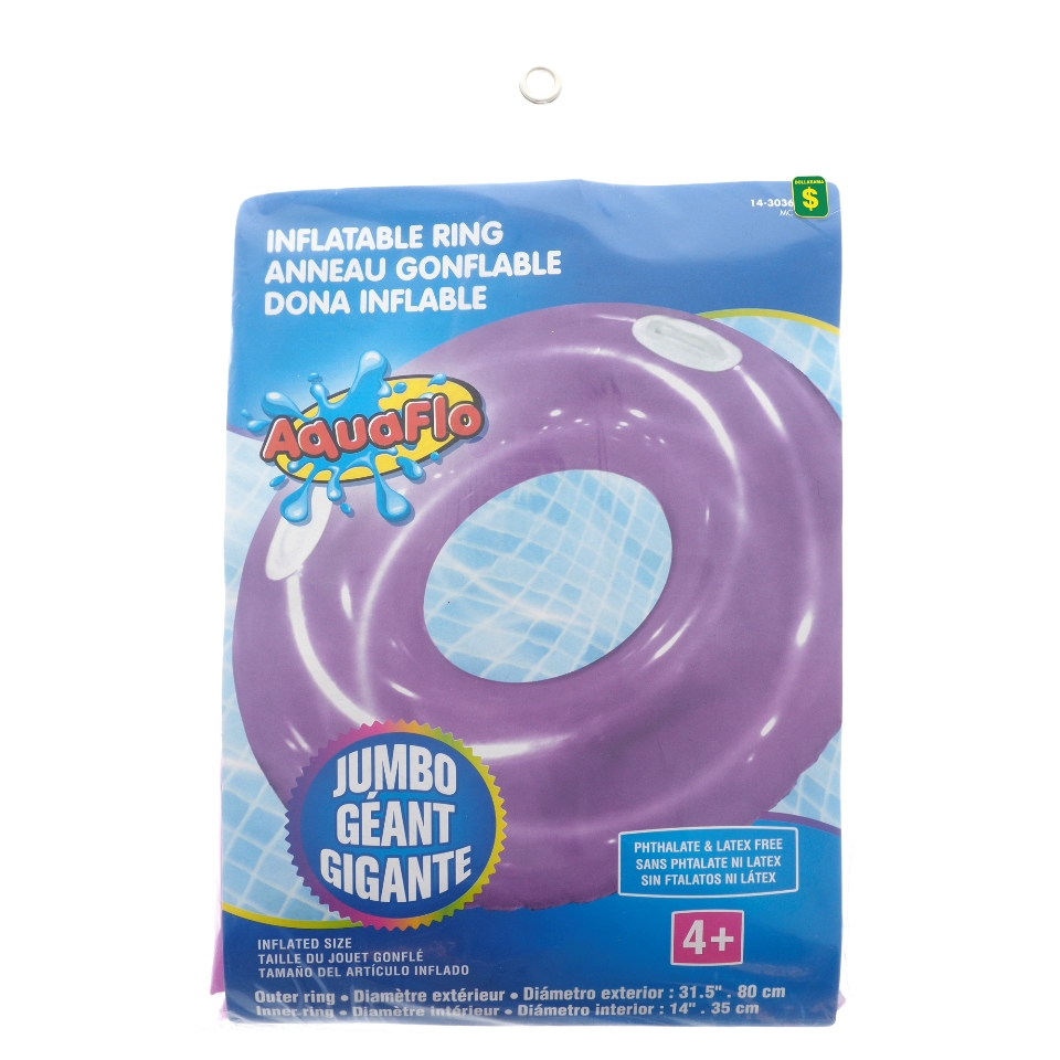 Inflatable Swim Ring with Handles