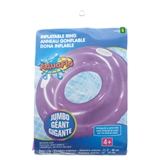 Inflatable Swim Ring with Handles - 0
