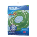 Large Inflatable Swim Ring W/Handles - 1