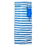 Folded Beach Mat with Handle - 1