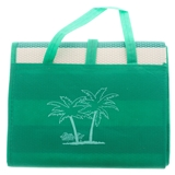 Folded Beach Mat with Handle - 2