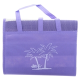 Folded Beach Mat with Handle - 3