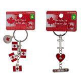 Canada Souvenir Metal Keychains - 0