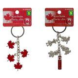 Canada Souvenir Metal Keychains - 1